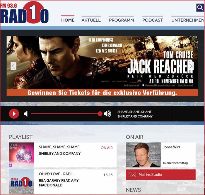 Radio 1, Zürich