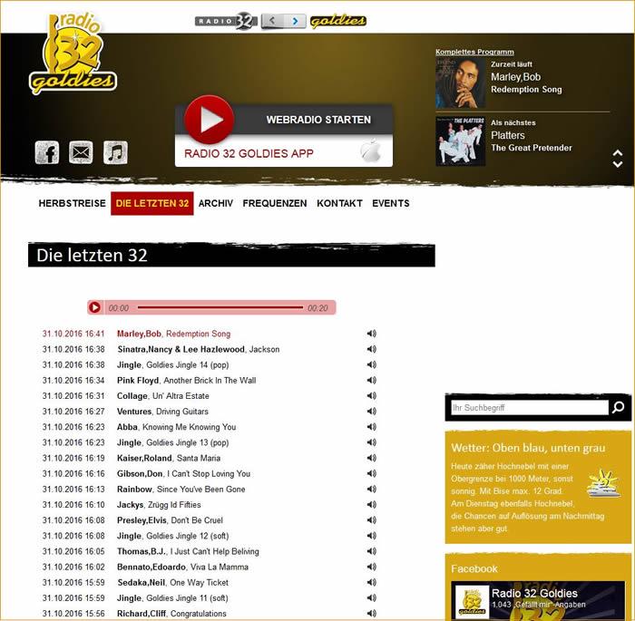 Radio 32, Goldies