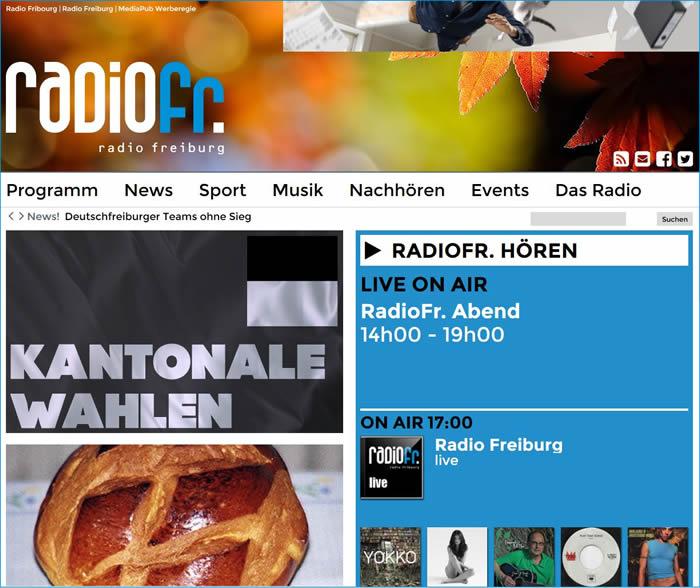 Radio Freiburg Schweiz