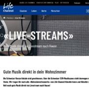 «Live-Streams» Gute Musik direkt via Livestream nach Hause