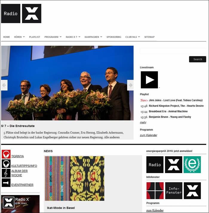 Radio X ist der Basler Jugend- und Kultursender.